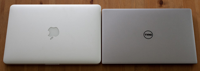 MacBook Pro vs. Dell XPS 13 closed