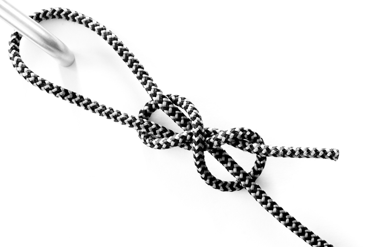 Poacher's knot loosened